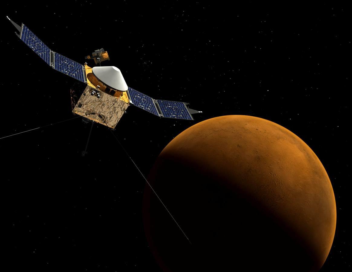La exploración espacial en Marte ha analizado la superficie en busca de agua para saber si el planeta es habitable para los microorganismos