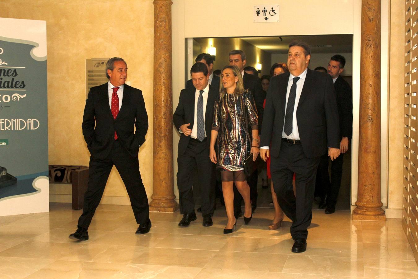 El presidente de Castilla-La Mancha, Emiliano García-Page, y la alcaldesa, Milagros Tolón, asistieron a la entrega de premios