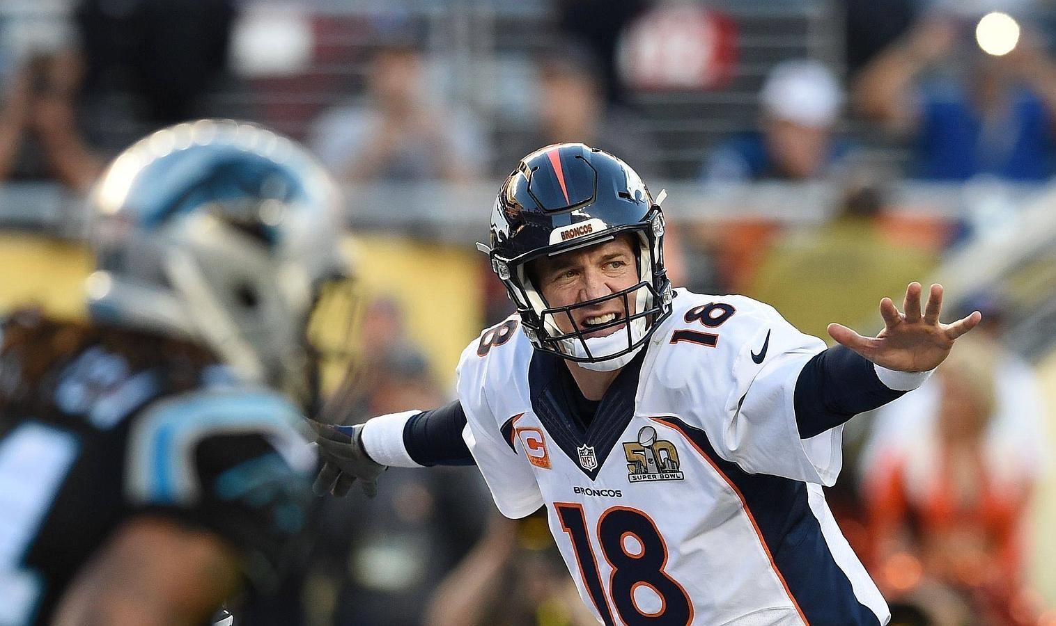 Payton Manning en su último partido