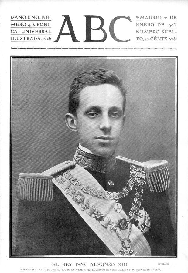 Resultado de imagen de alfonso XIII joven