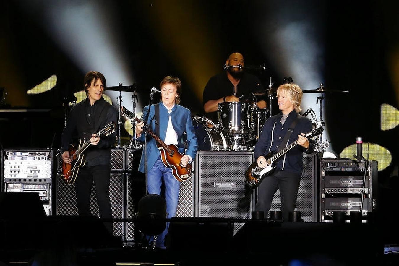 Un instante del concierto en Madrid