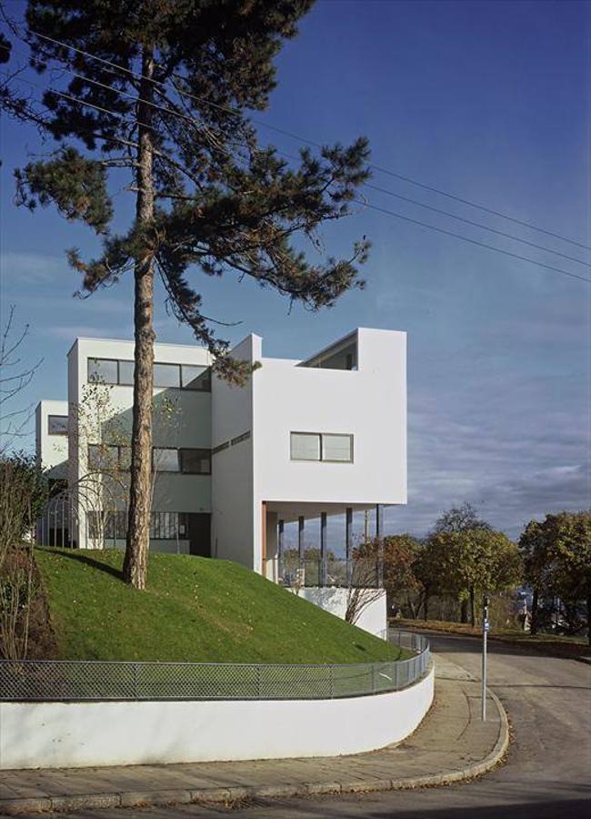Estas son las 17 obras de le corbusier declaradas for Villas weissenhofsiedlung