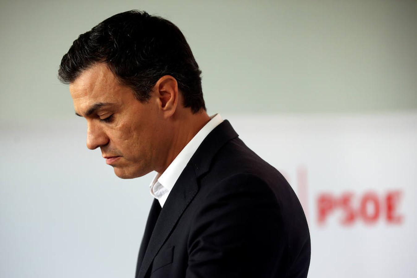 Sánchez ha dimitido tras más de 10 horas de Congreso y dos años como secretario general del PSOE