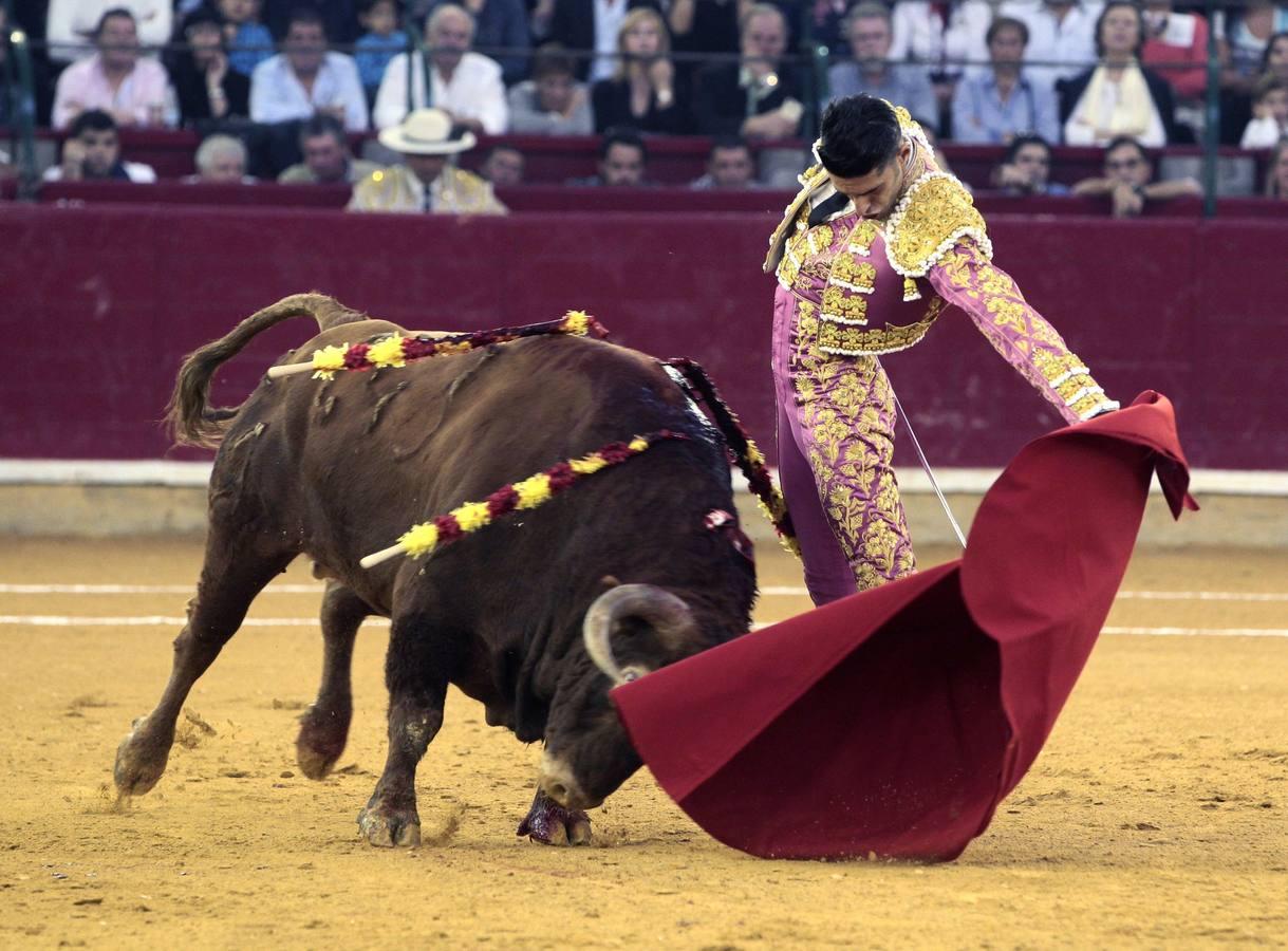 Talavante, en Zaragoza
