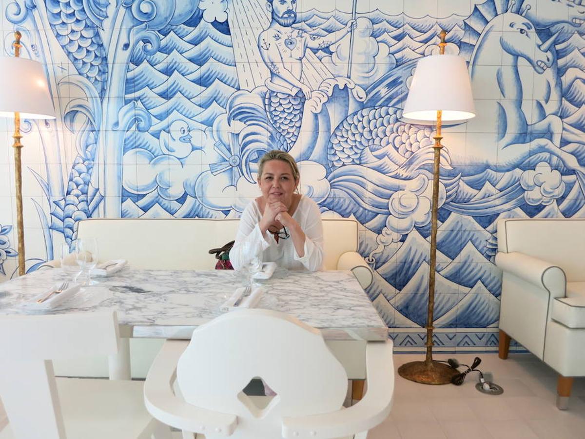 La azulejer a talaverana llega a miami for Azulejos artesanales