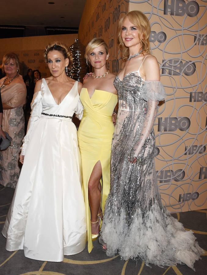Sarah Jessica Parker, Reese Witherspoon y Nicole Kidman