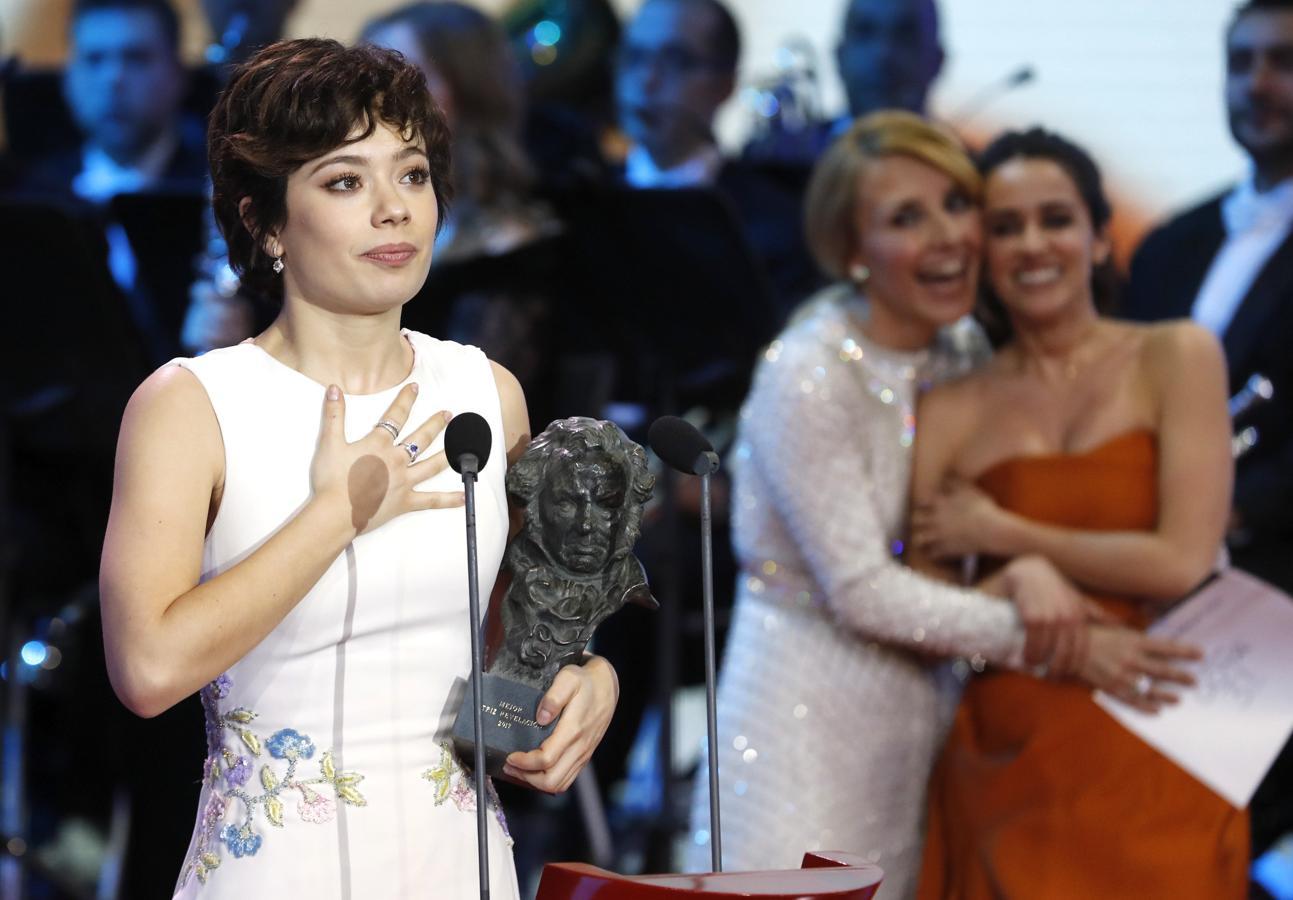 Anna Castillo, protagonista de «El olivo», ganadora del premio Goya a Mejor Actriz Revelación