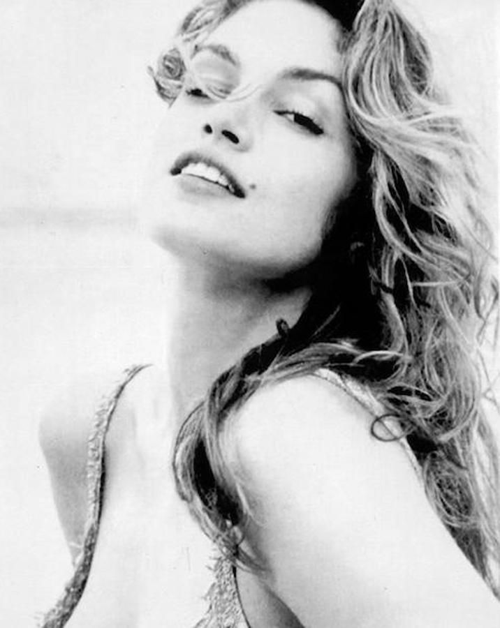 La modelo Cindy Crawford nació el 20 de febrero de 1966, en DeKalb, Illinois