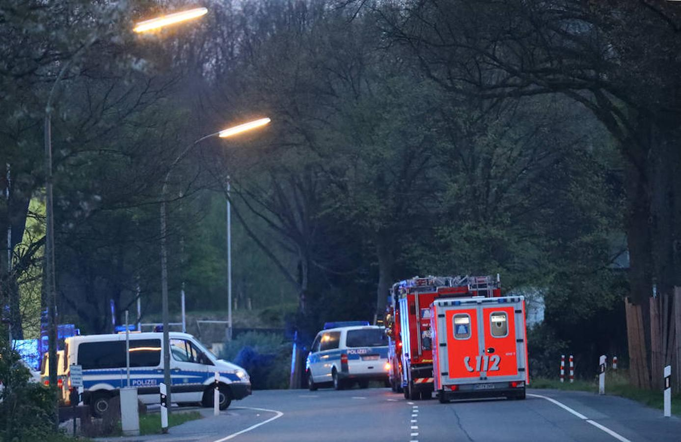 En torno a las 20.00 horas una explosión junto al autobús del Borussia de Dortmund generó mucha confusión