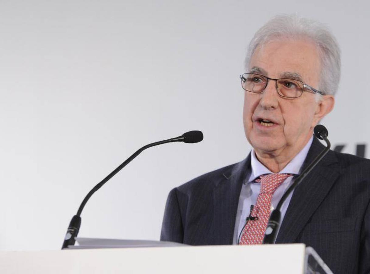 El subgobernador del Banco de España, Javier Alonso, durante el XXIV Encuentro del Sector Financiero ABC-Delo