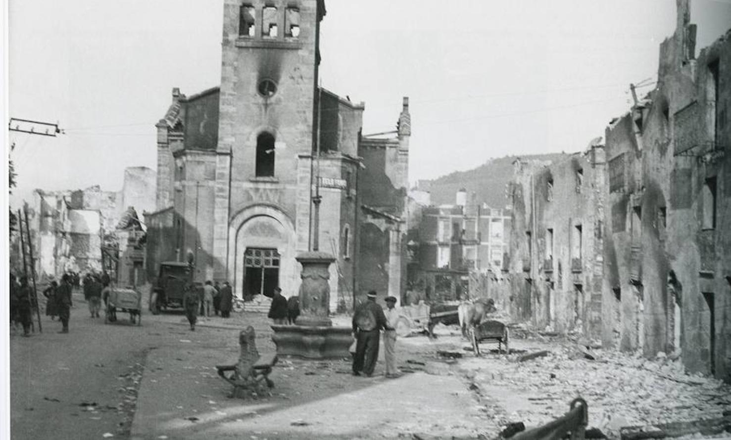 Este miércoles se cumplen 80 años del bombardeo de la Legión Cóndor alemana y la Aviación Legionaria italiana al municipio vizcaíno de Guernica