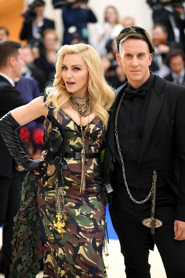 Madonna y Jeremy Scott