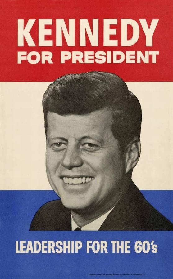 La campaña que llevó a John F. Kennedy a la presidencia