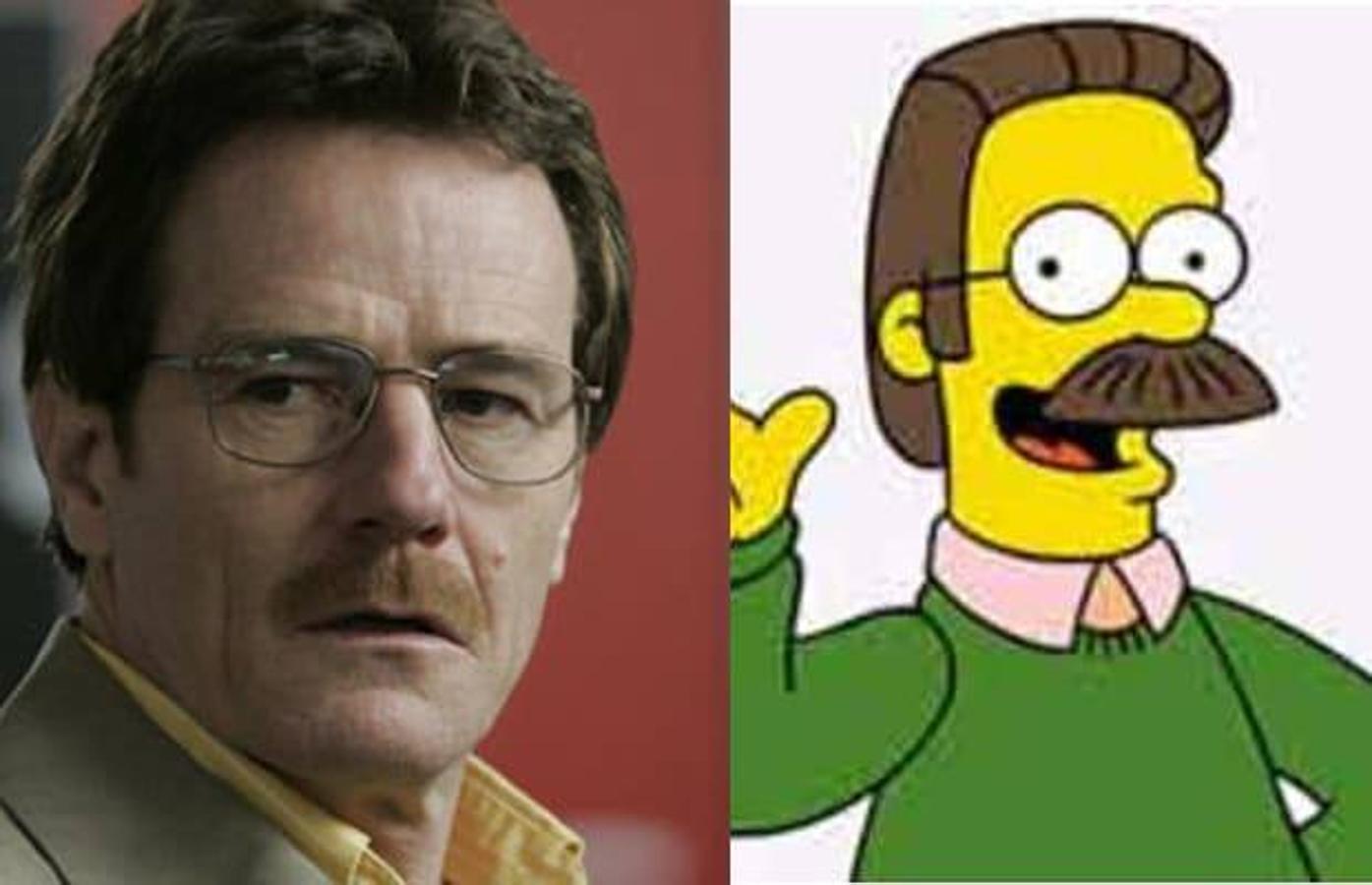 Bryan Cranston / Ned Flanders, «Los Simpsons»