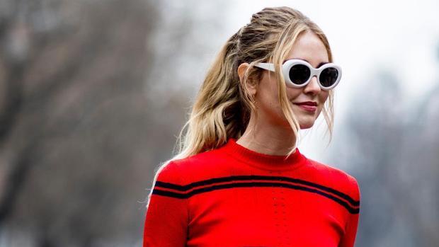 Gafas de sol blancas para el verano