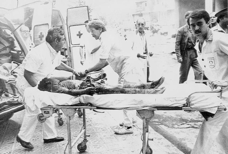 Heridos del atentado de ETA en Hipercor