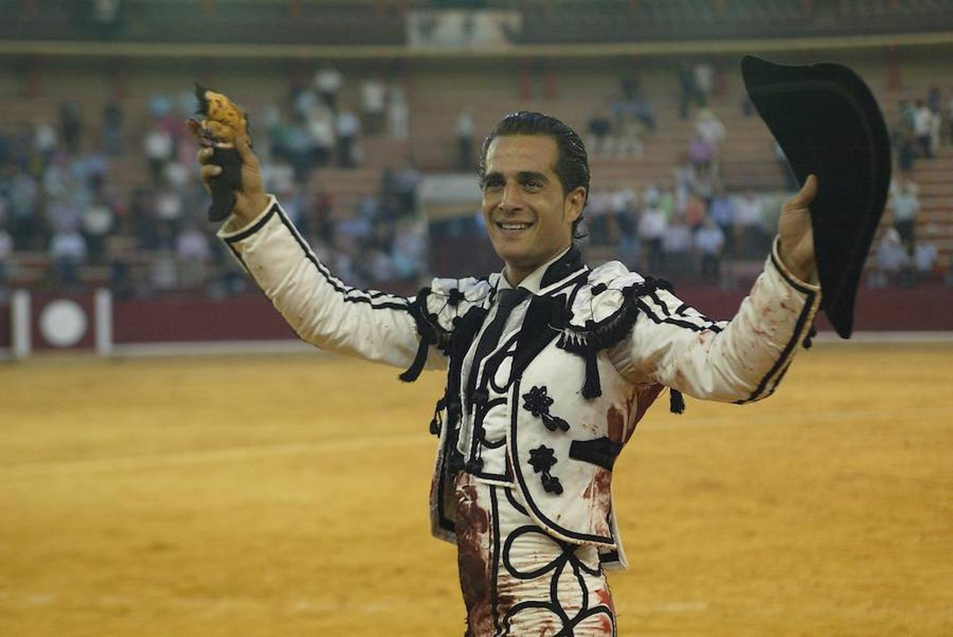 Iván Fandiño, en una imagen de 2012 tomada en la plaza de toros de Zaragoza