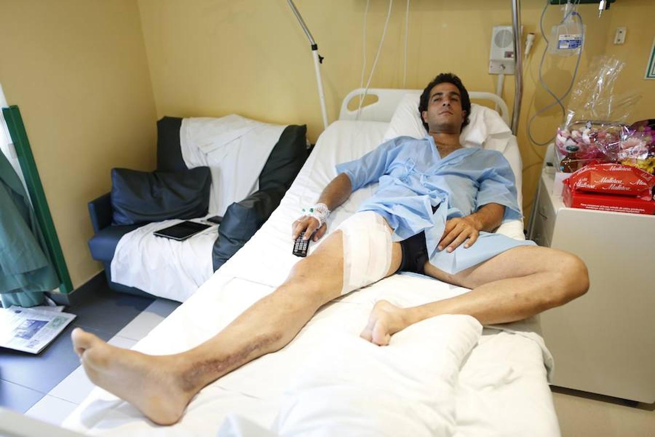 Iván Fandiño superó todos y cada uno de los percances que padeció. Sin ir más lejos, este del año 2013 en una corrida de San Isidro