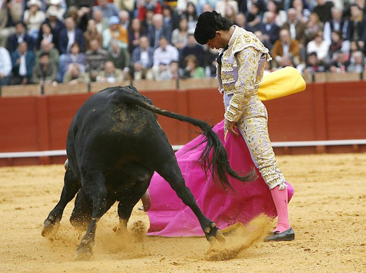 Fandiño, en una imagen del año 2010 en la Maestranza (Sevilla)