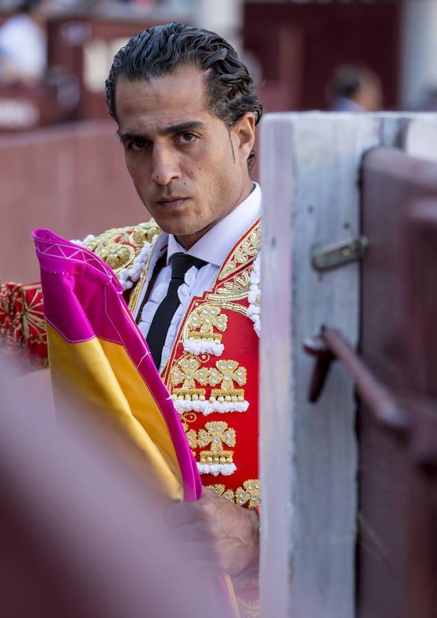 Iván Fandiño, mentalizado para una corrida de San Isidro 2014 en la plaza de toros de Las Ventas