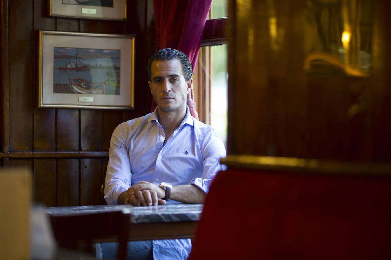 Iván Fandiño, en una entrevista concedida a este diario en 2014
