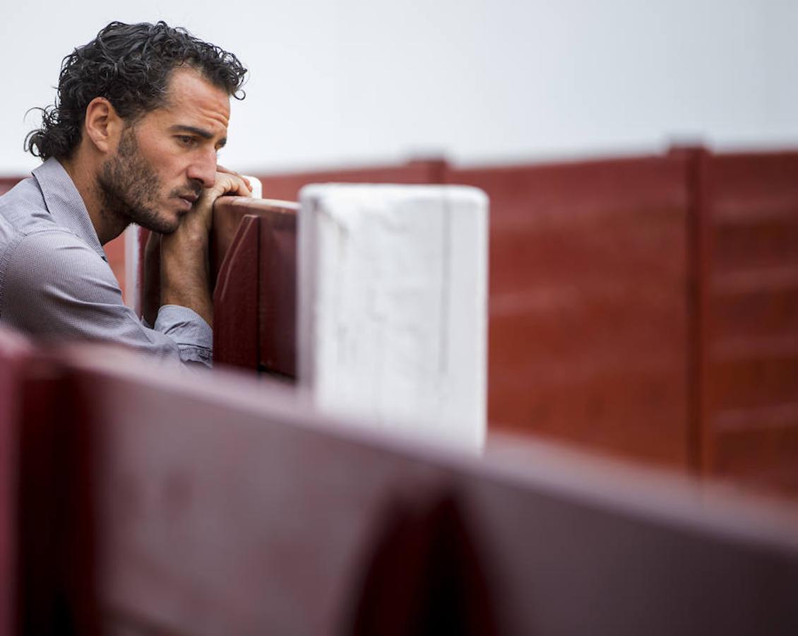Iván Fandiño posa para este diario en una sesión fechada en 2015