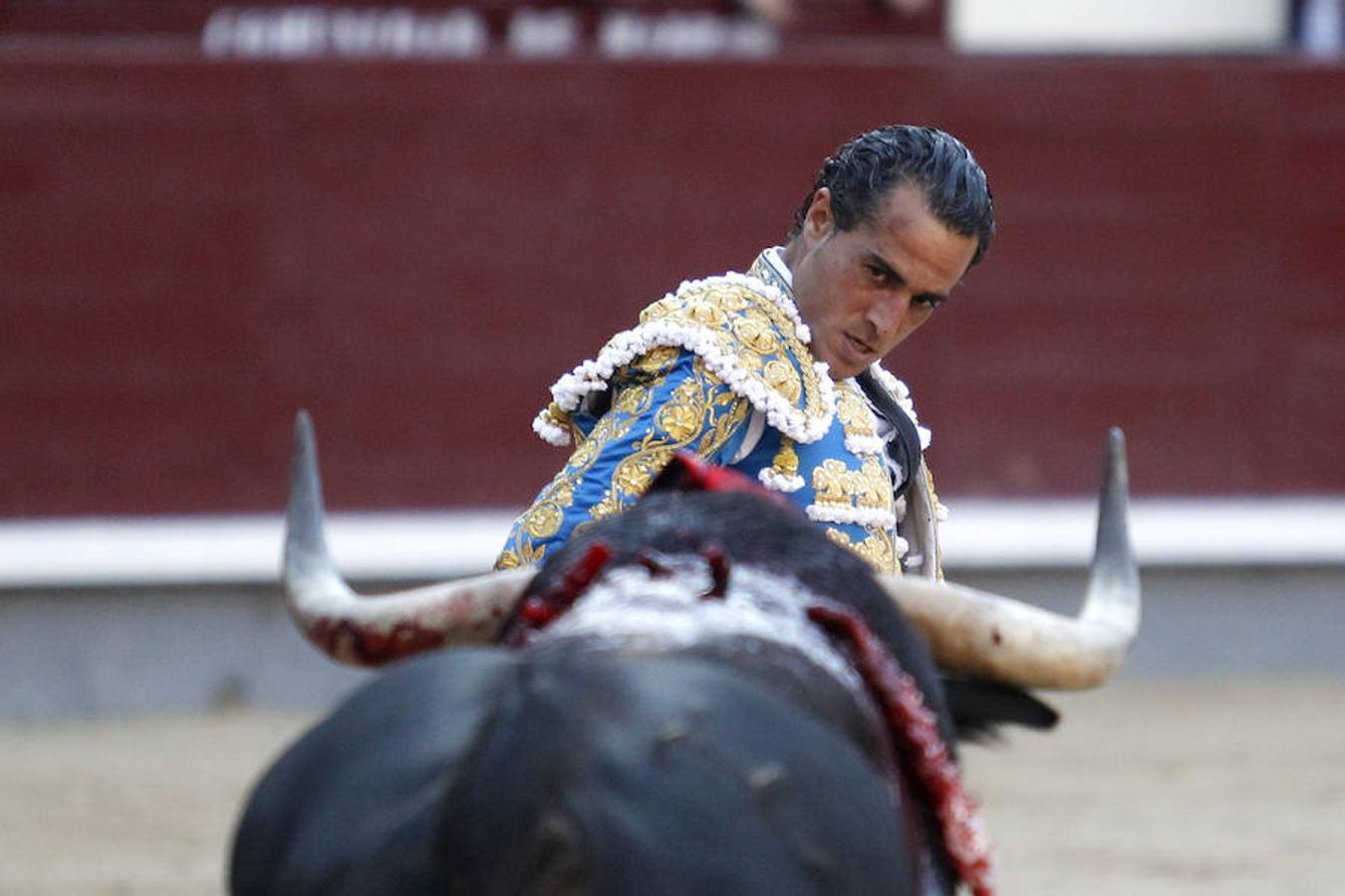 Iván Fandiño, este pasado mes de mayo en la Feria de San Isidro