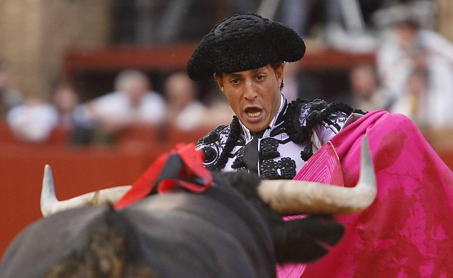 Fandiño, en una imagen del año 2011 en la Maestranza (Sevilla)