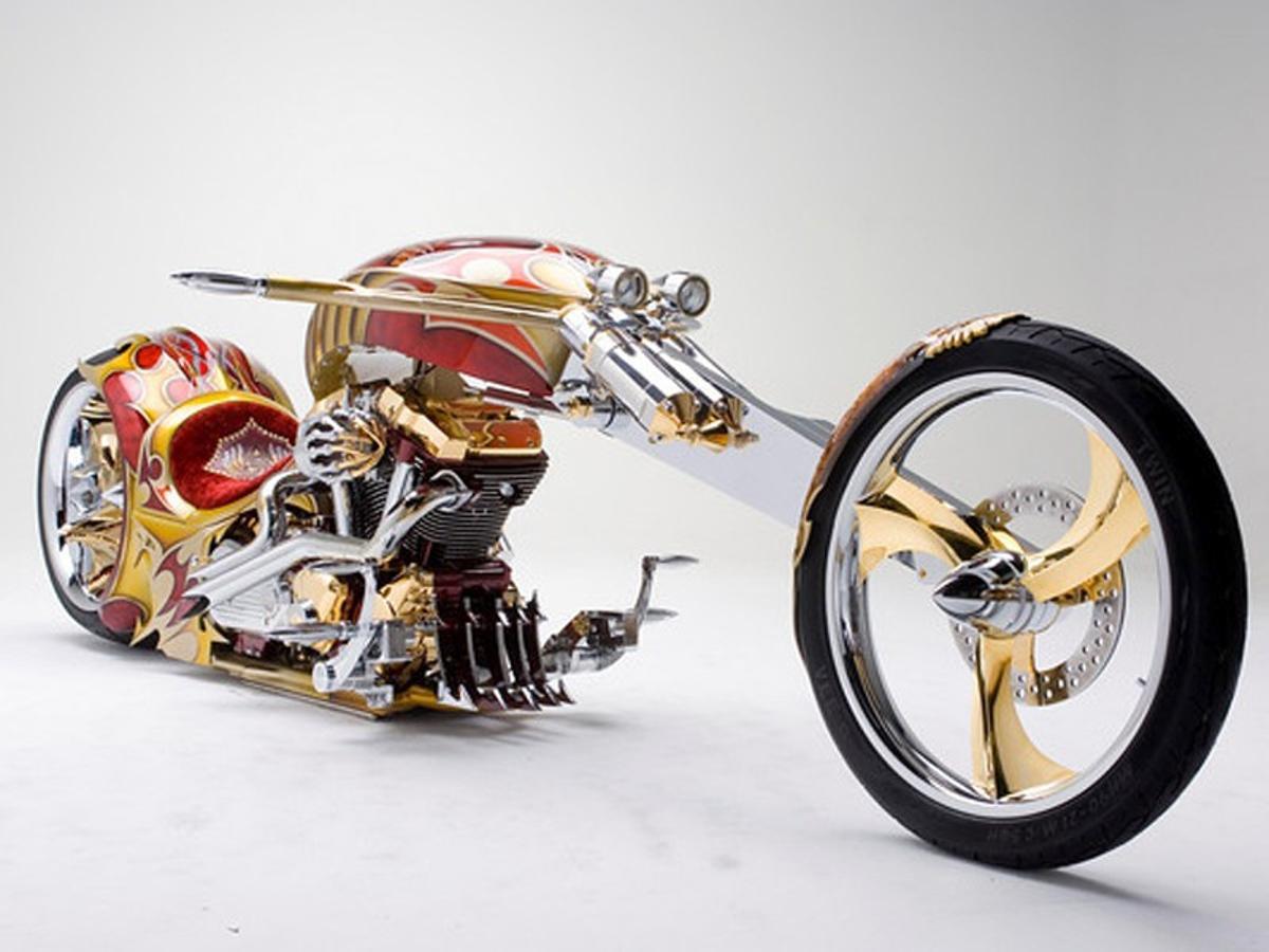 las motos mas excentricas del mundo al detalle