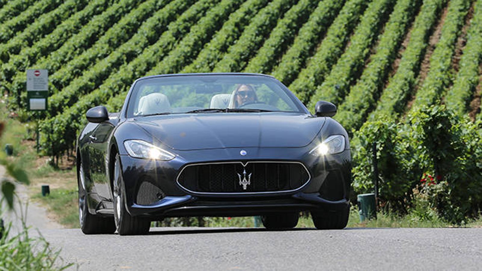 El último descapotable de Maserati, el GranCabrio