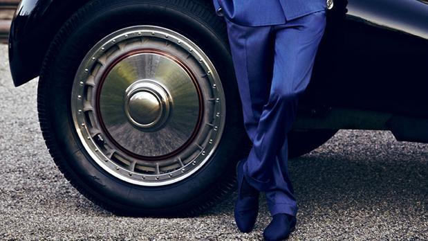 El calzado de lujo automotriz