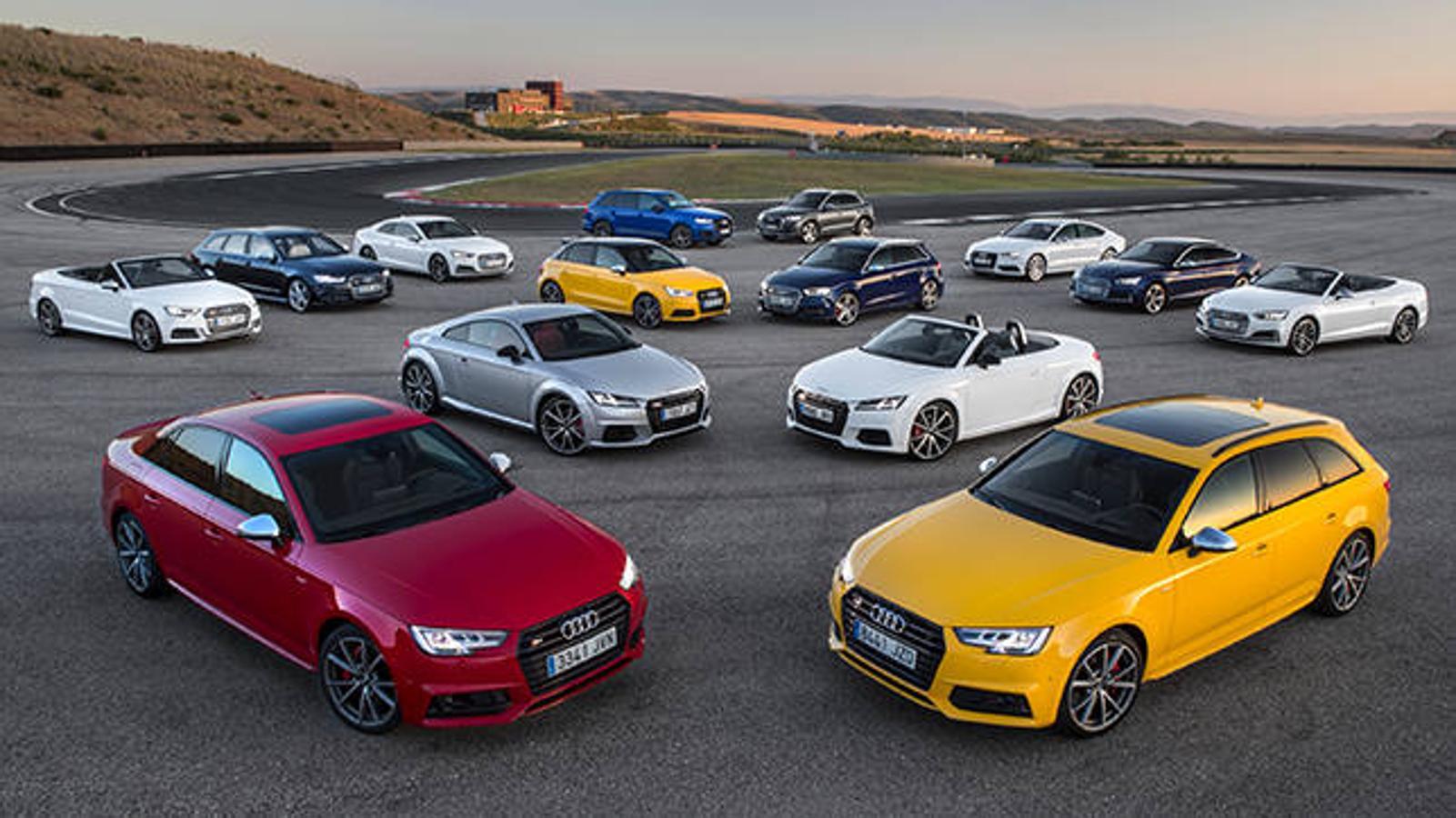 La gama S de Audi aúna lujo y deportividad a partes iguales