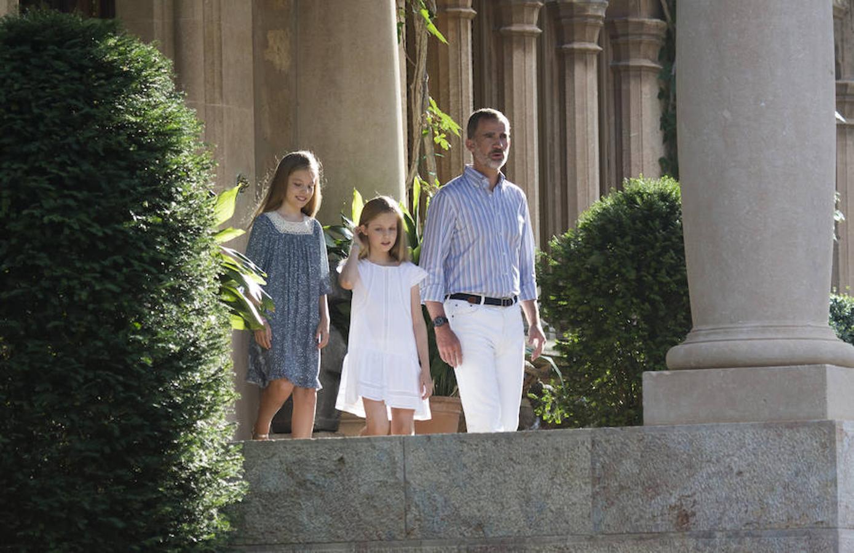 El posado veraniego de la Familia Real, en imágenes