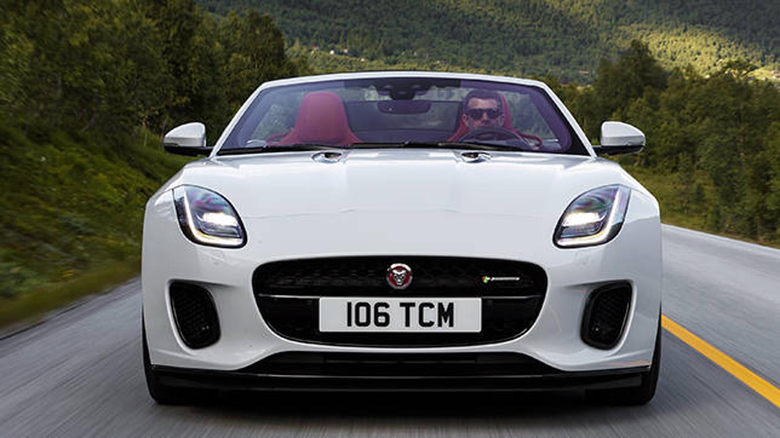 El nuevo Jaguar F-TYPE Convertible de 300 caballos