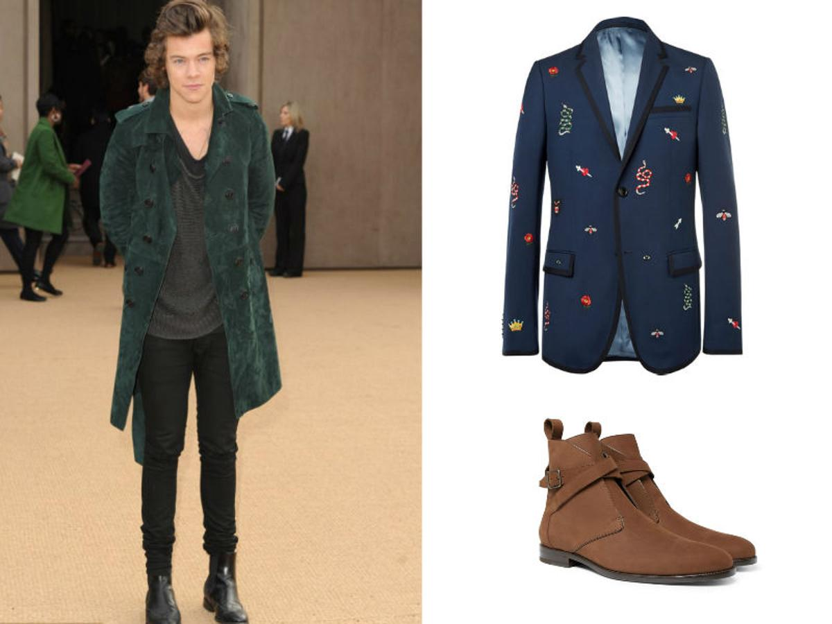 Copia el look de Harry Styles