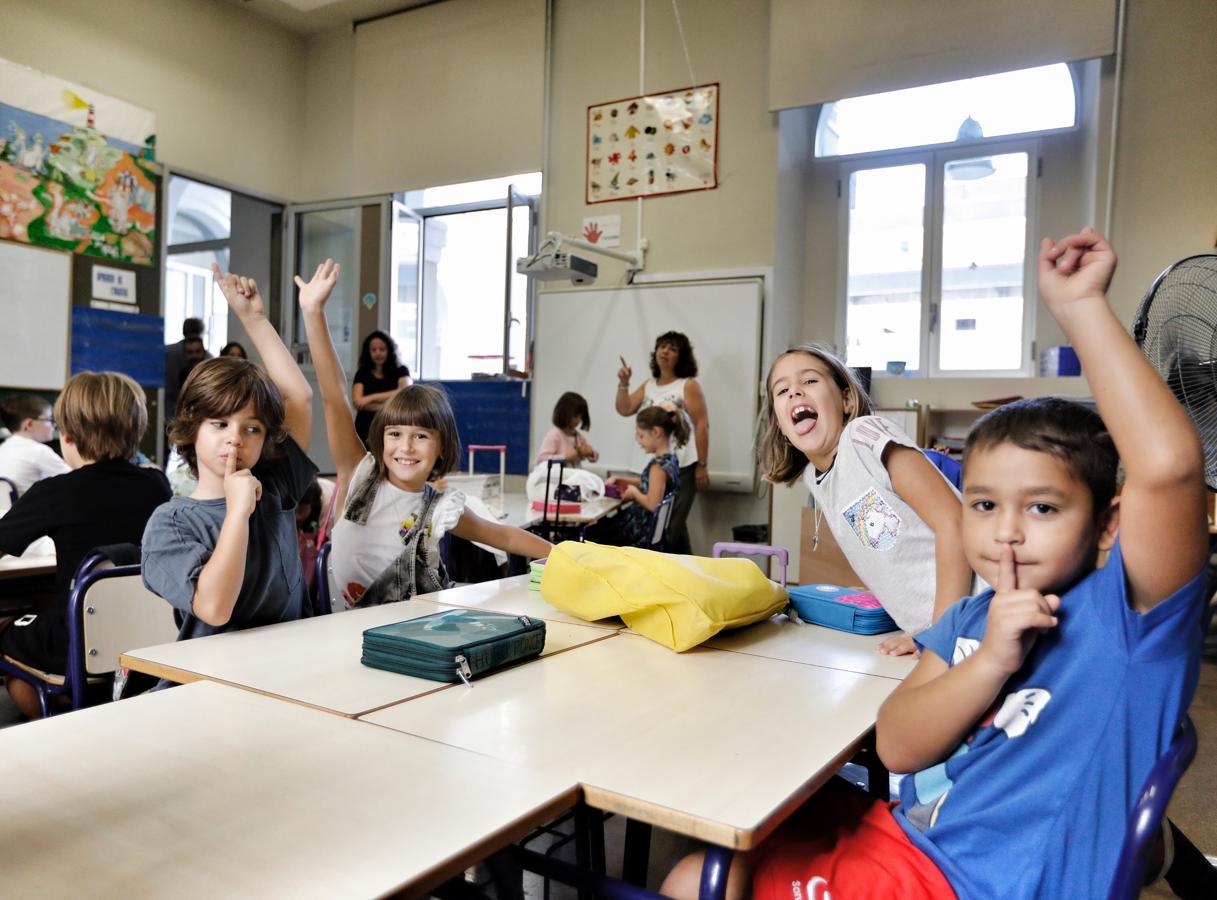 Primer día de colegio en la Comunidad Valenciana