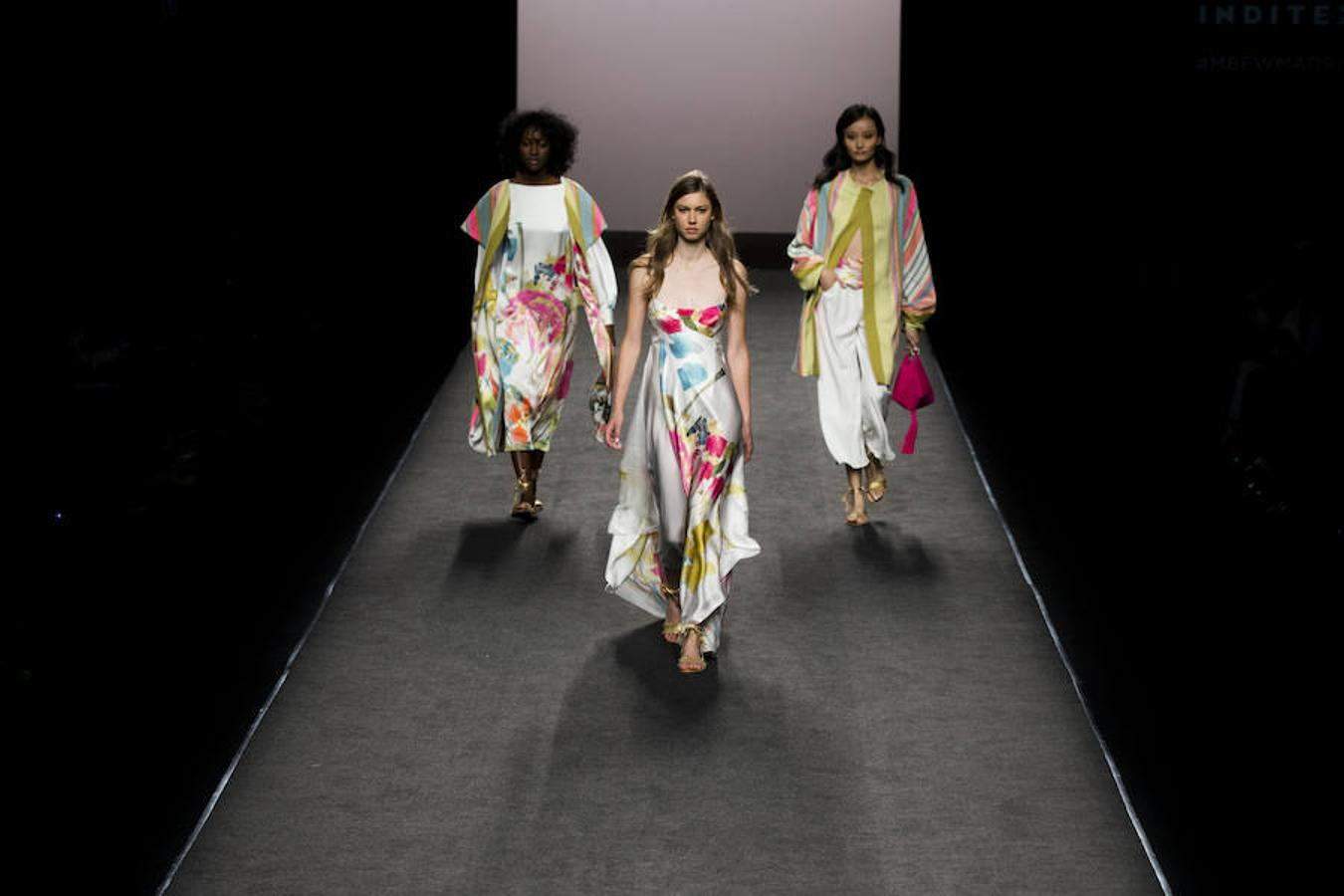 Desfile de Marcos Luengo en la Mercedes Benz Fashion Week Madrid donde ha presentado su colección primavera/verano 2018