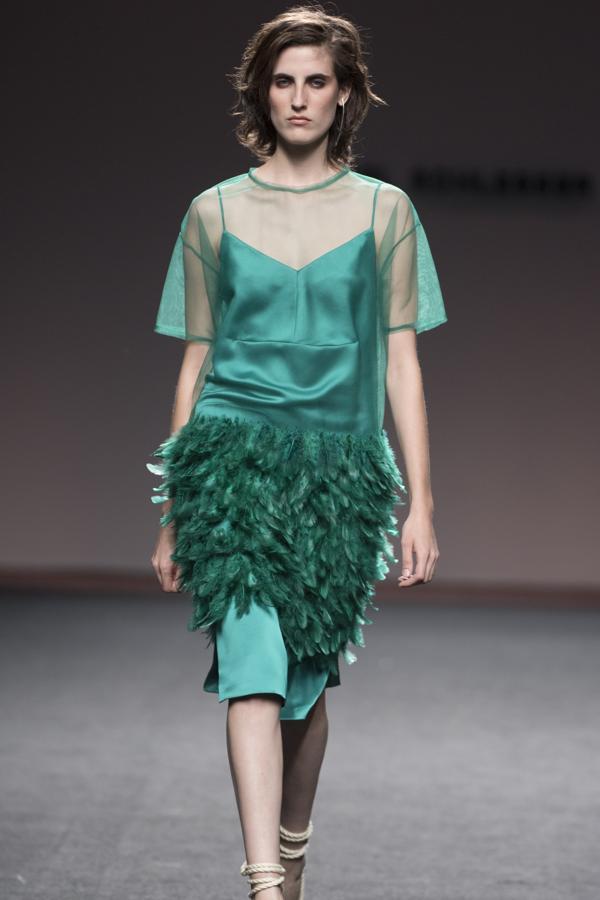 Diseño de Ángel Schlesser en verde esmeralda