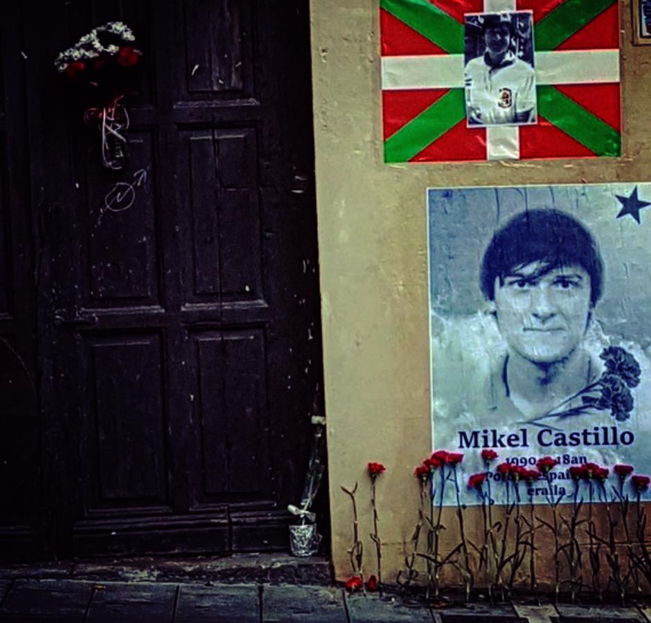 Homenaje al etarra Mikel Castillo, quien murió en una persecución policial