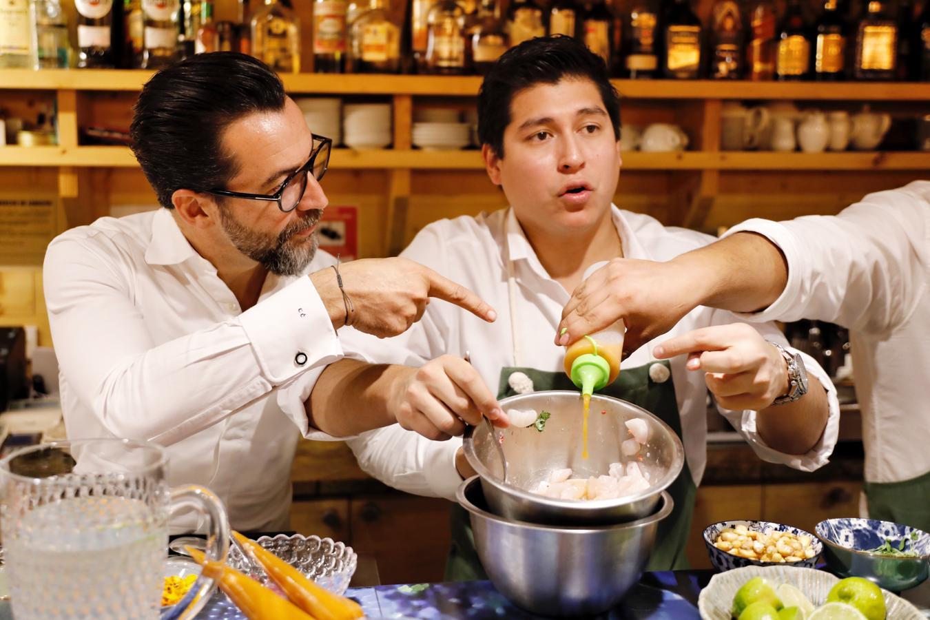 Quique Dacosta lanza en Valencia un nuevo concepto de cocina peruana en barra