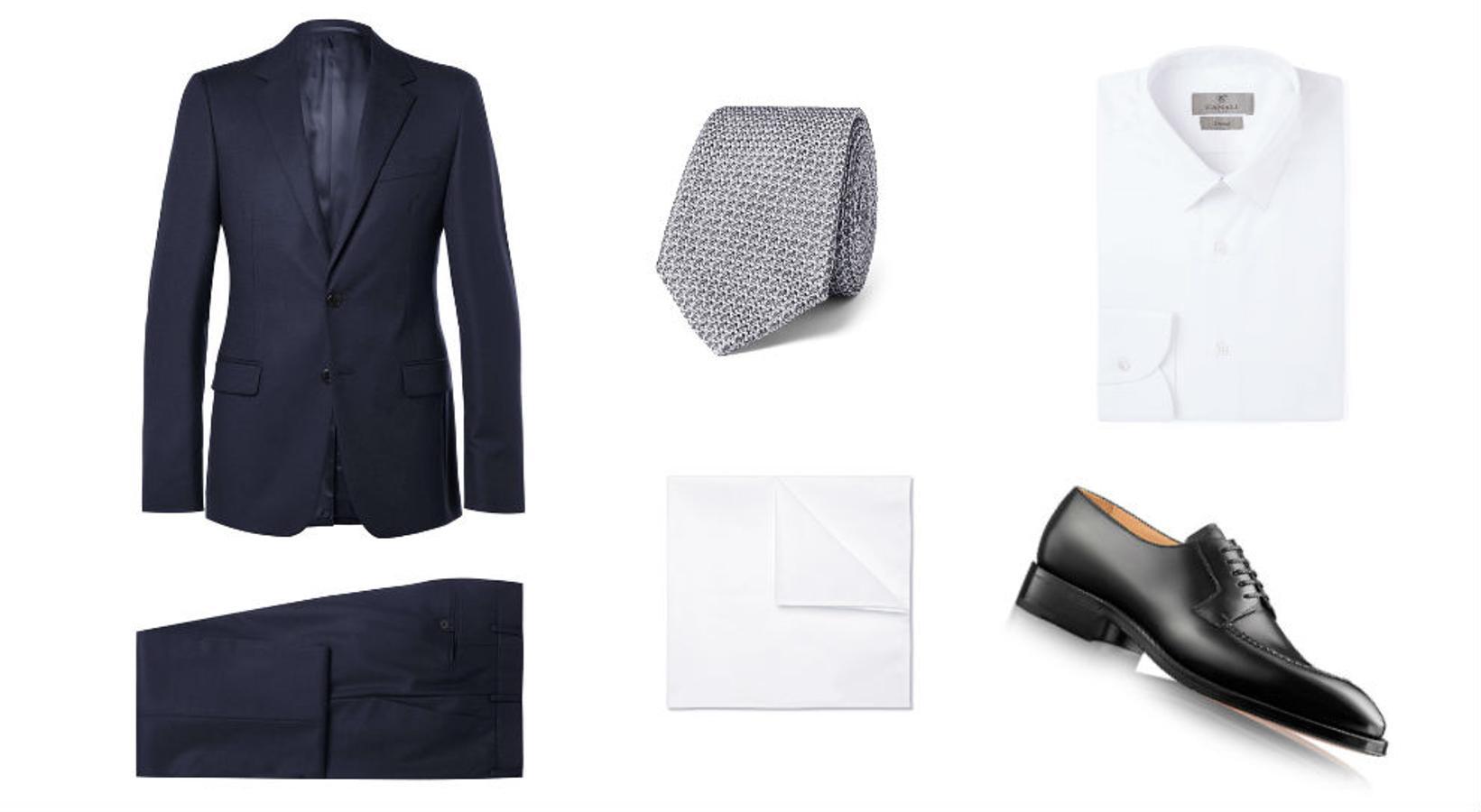 Look con traje inspirado en 'Suits'