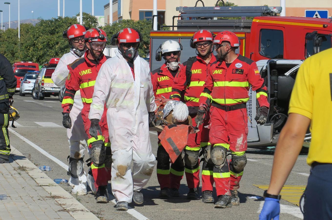 Así se prepara España para hacer frente a un grave accidente aéreo