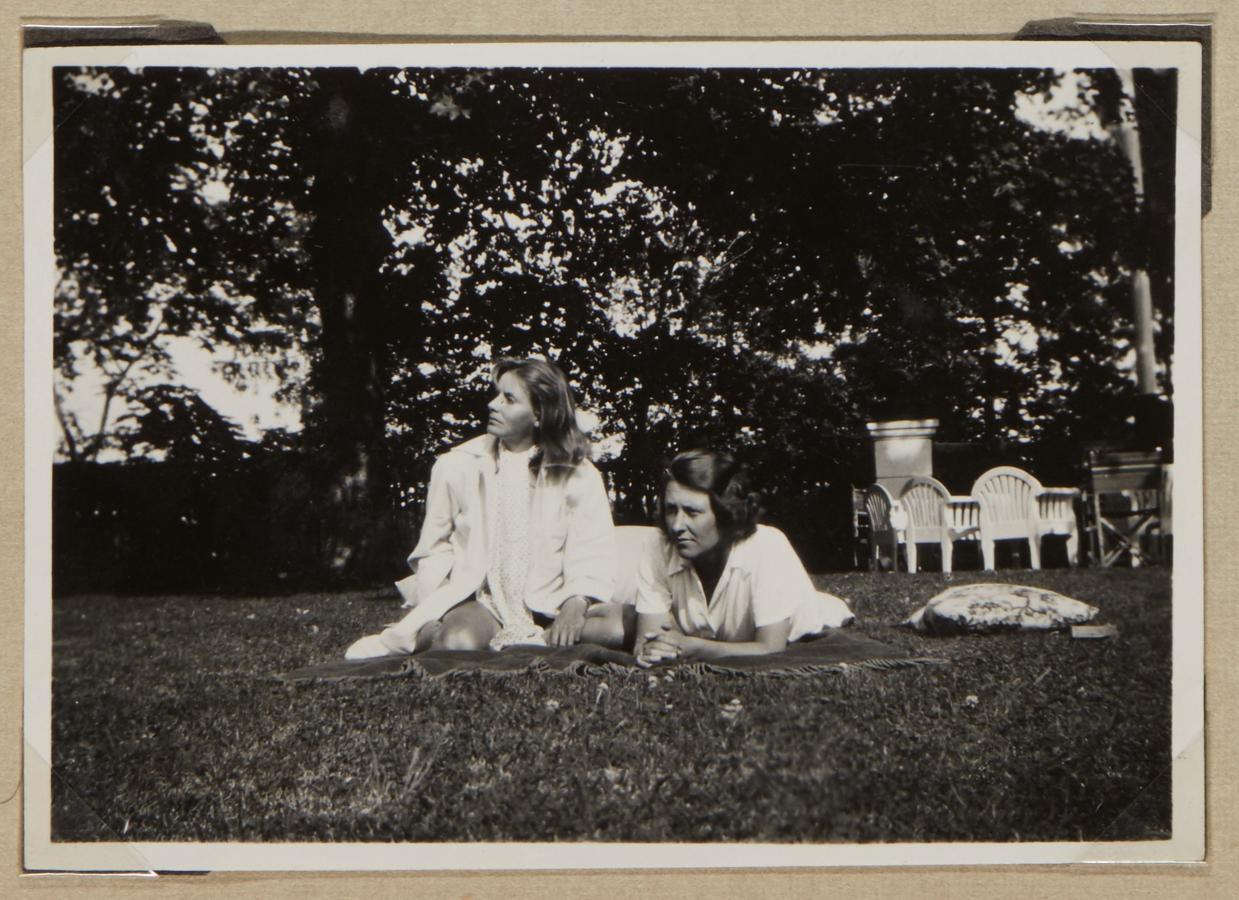 Garbo, con la condesa de Wachtmeister