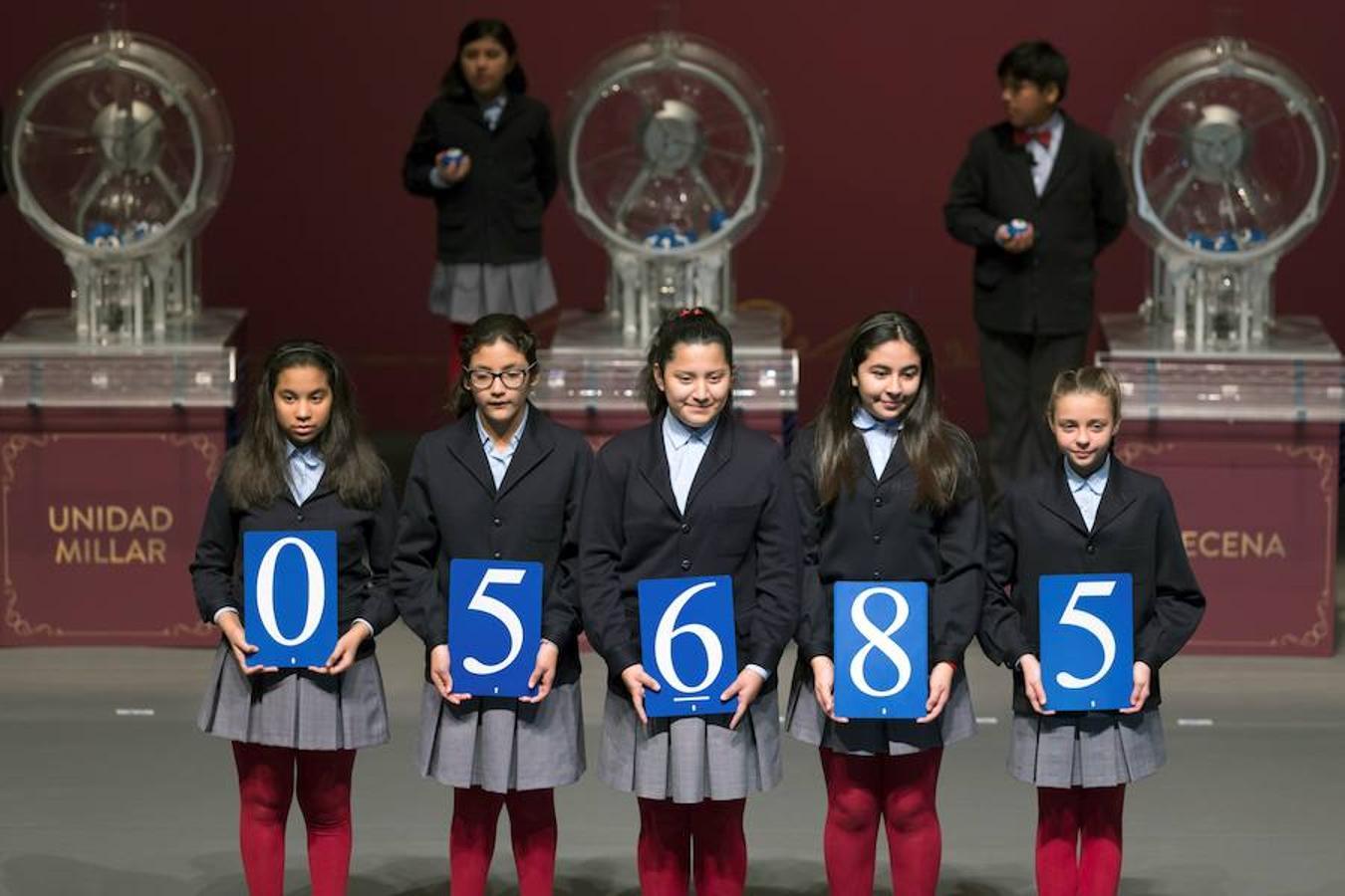 El primer premio de la Lotería del Niño ha caído íntegramente en Bilbao