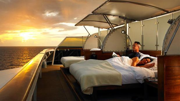 ¿Vivirías en un crucero de lujo?