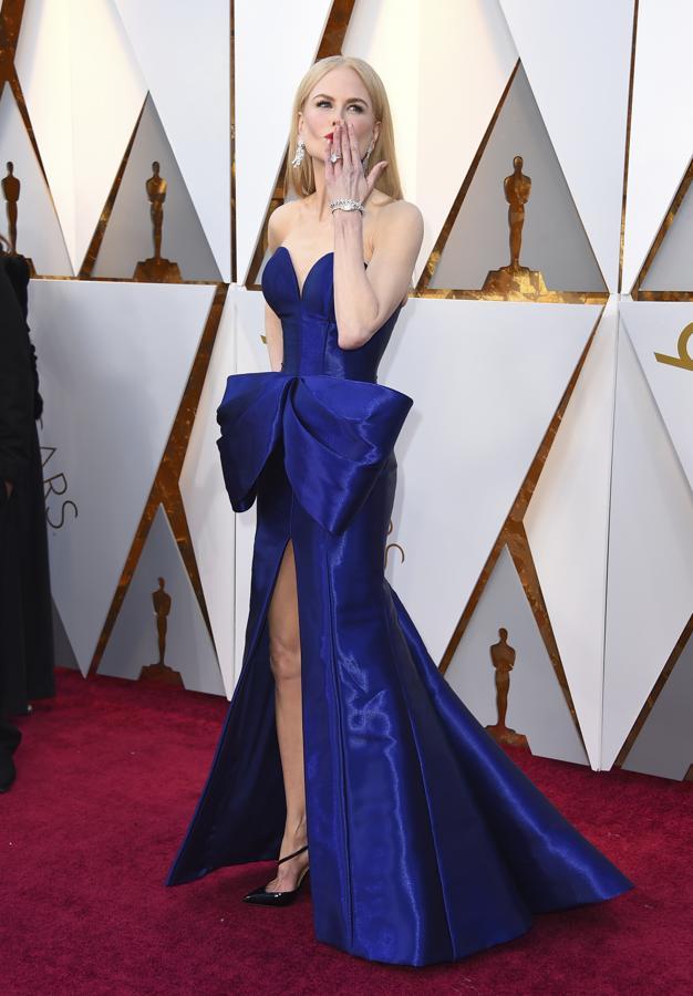 Las Diez Actrices Mejor Vestidas De Los Oscar 2018