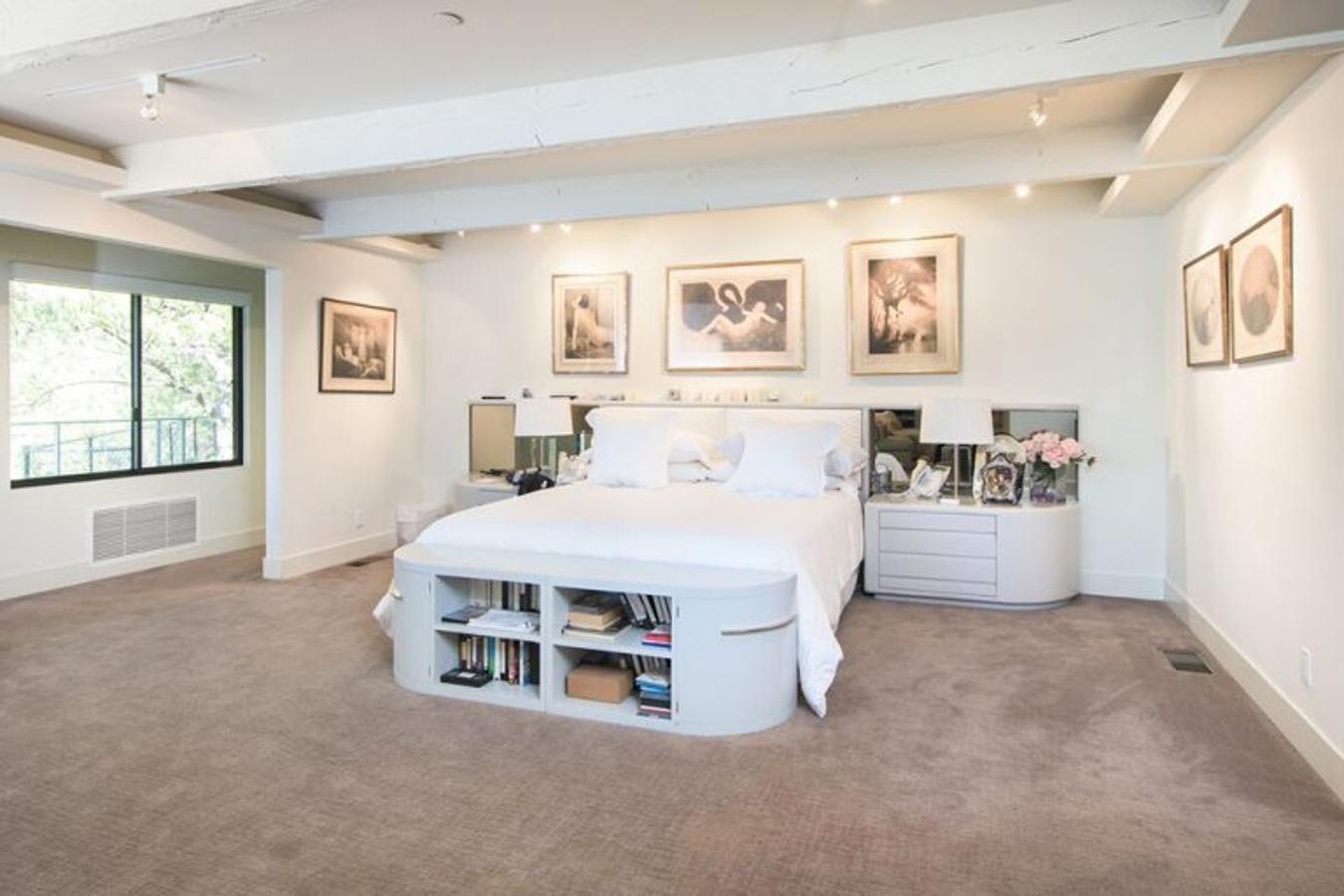 Así son los dormitorios de los famosos