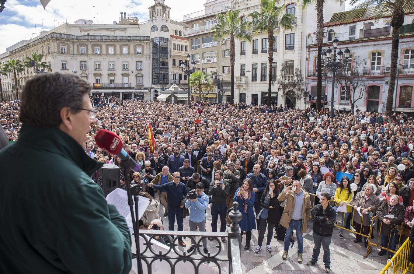 Huelva, foco de la concentración