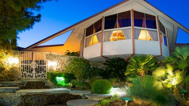 La casa futurista en la que Elvis Presley pasó su luna de miel