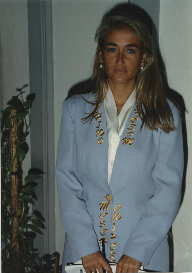 Cristina Cifuentes, en la Asamblea de Madrid en 1994